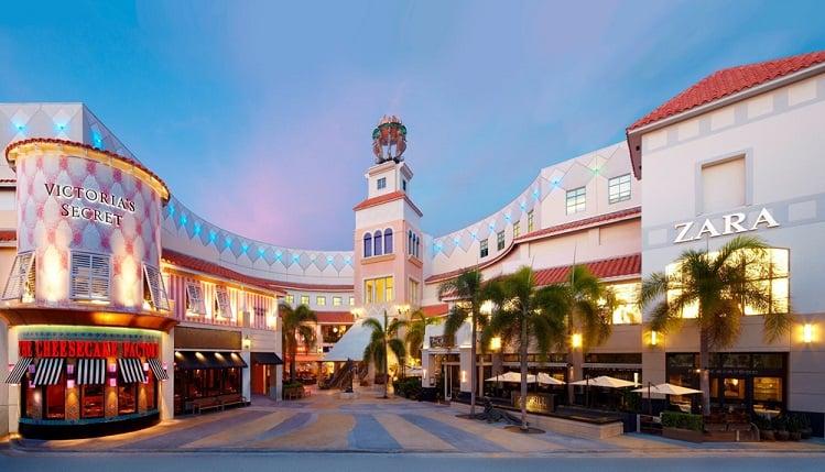 Compras no Shopping Aventura Mall Miami