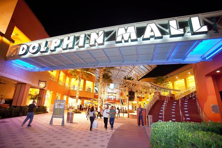 Shopping e outlet Dolphin Mall Miami