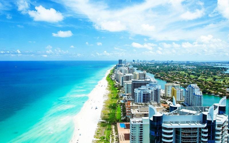 Passeio pela região South Beach em Miami