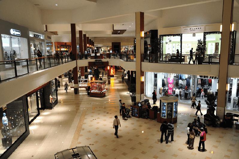 Lojas do Shopping Aventura Mall em Miami