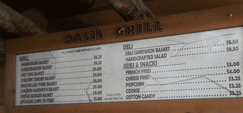 Restaurantes e comidas dentro do Zoo Miami