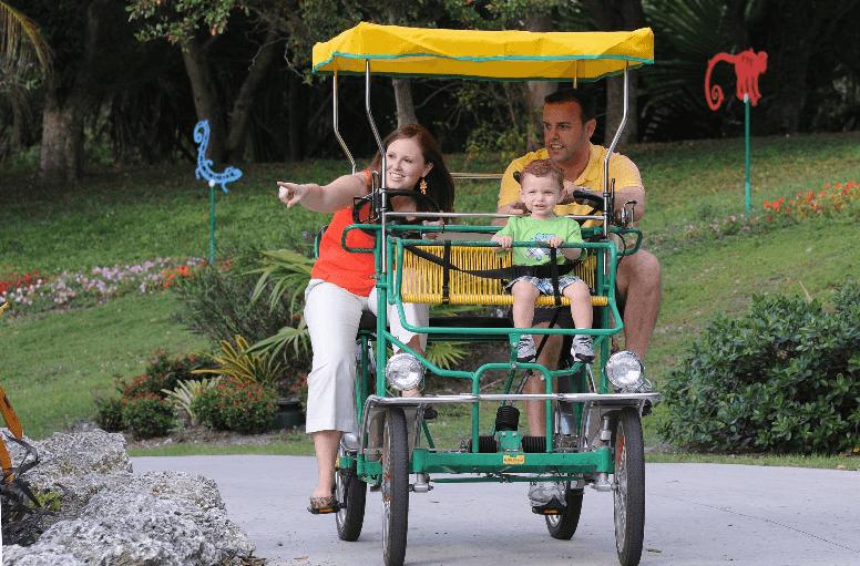 Formas para se locomover no Zoo Miami
