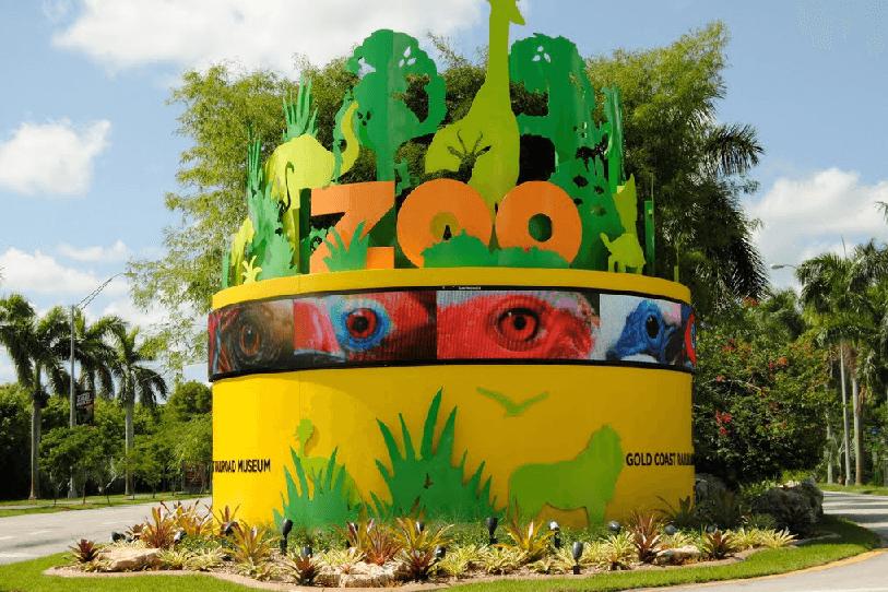 Maior zoológico da Flórida