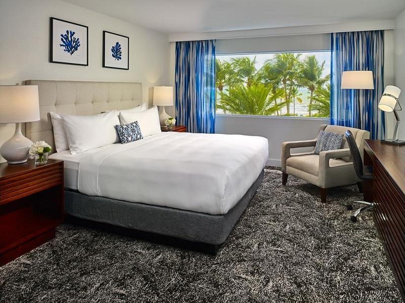 Quarto do Hotel Sonesta em Fort Lauderdale