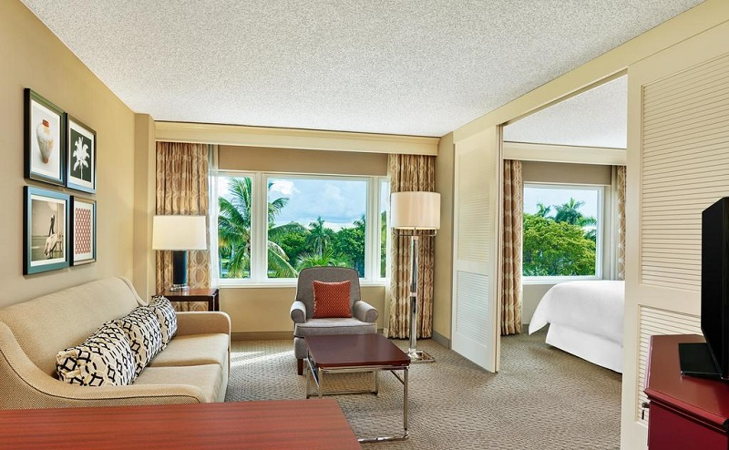 Quarto do Hotel Sheraton Suites Fort Lauderdale Plantation