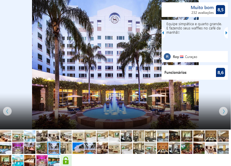 Fachada do Hotel Sheraton Suites Fort Lauderdale Plantation