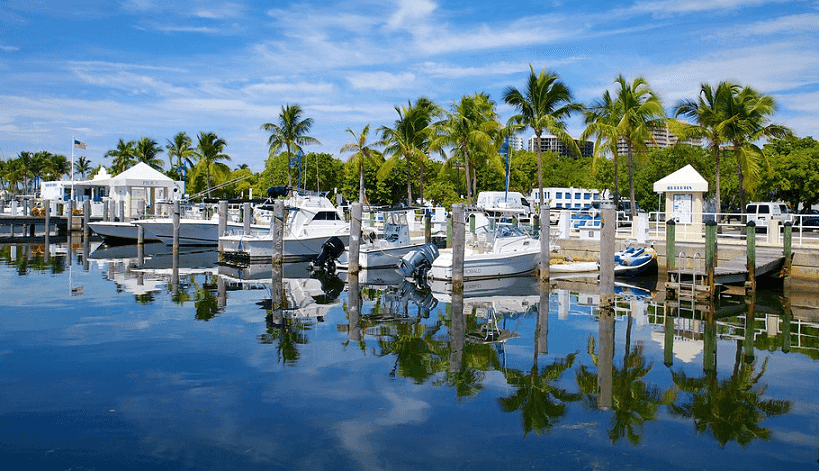 Coconut Grove em Miami