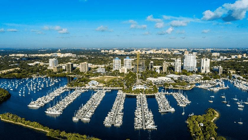 Atrativos no Coconut Grove em Miami