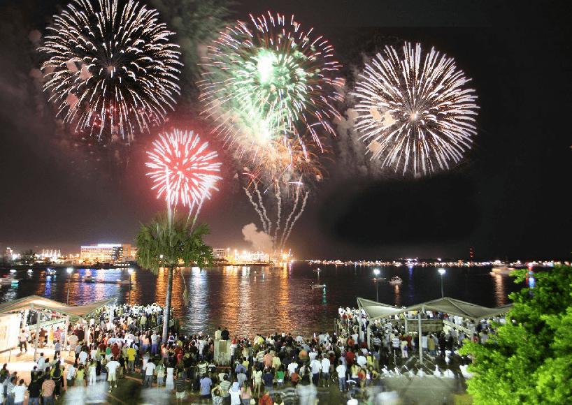 Comemorações de Ano Novo em Miami