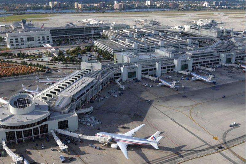 Aeroporto em Miami