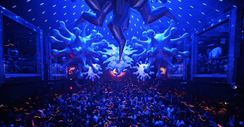 Balada LIV Nightclub em Miami