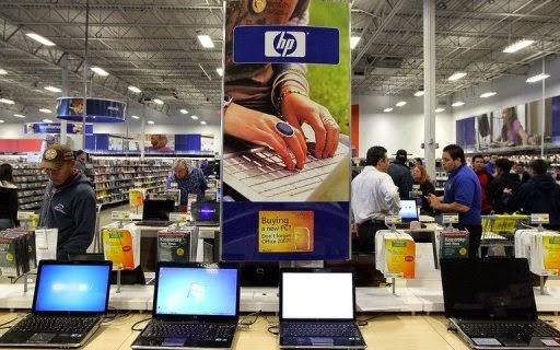 Compras de eletrônicos nos Estados Unidos