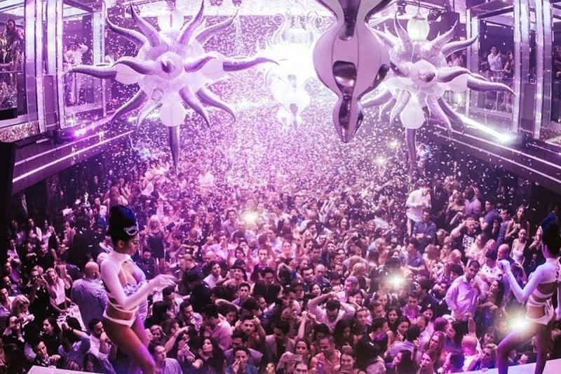 Festa na LIV Nightclub em Miami