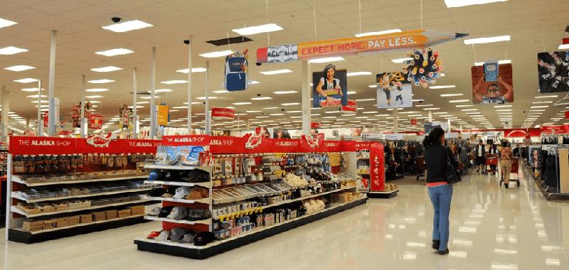 Loja imperdível Target em Miami