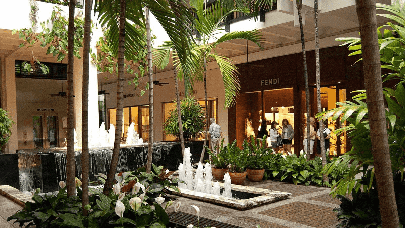 Compras no shopping Bal Harbour Shops em Miami