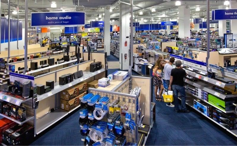 Loja de eletrônicos Best Buy em Miami