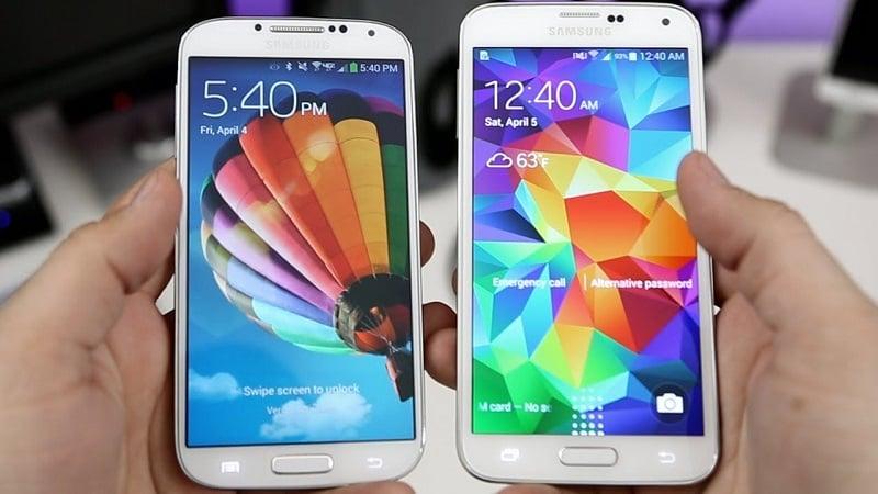 Comprar o Samsung Galaxy S5 e S4 na loja Amazon nos Estados Unidos