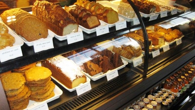 Comidas no restaurante Starbucks em Miami