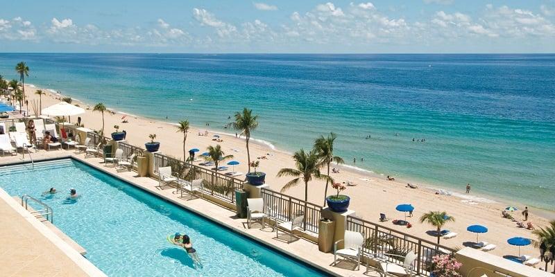 Hoteis próximos as praias em Fort Lauderdale