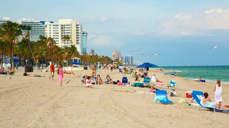 Visita às praias em Fort Lauderdale