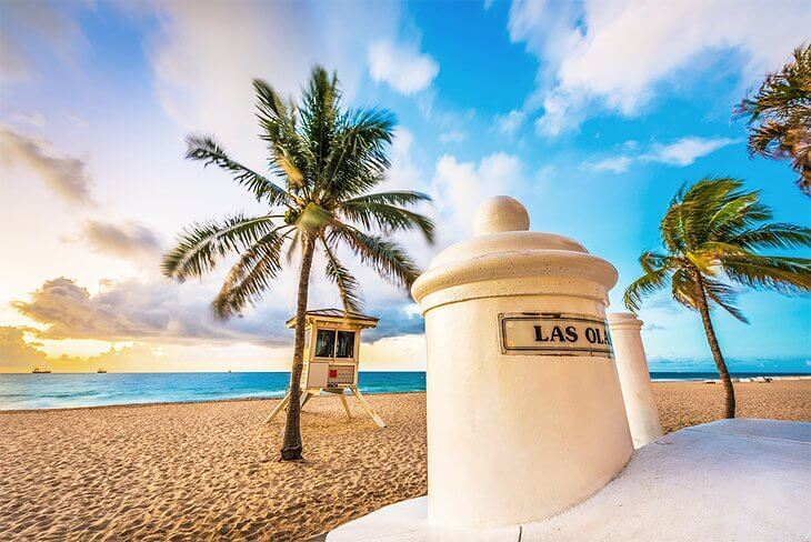 Principais praias em Fort Lauderdale
