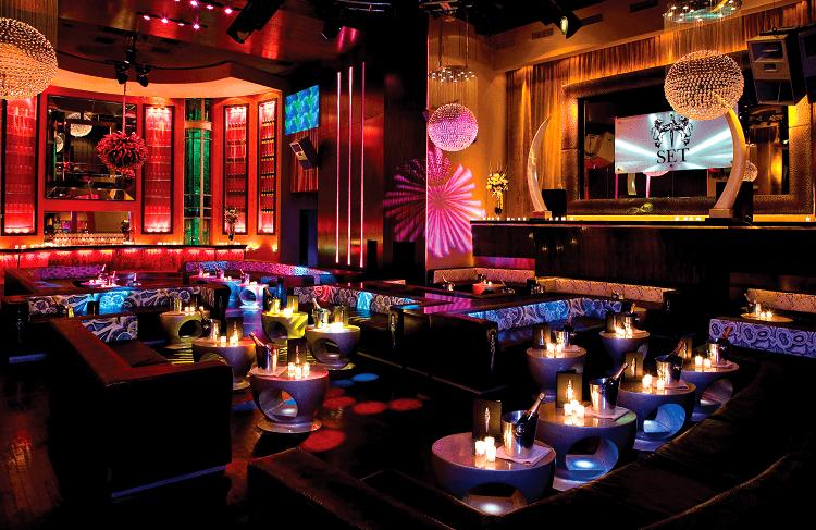 Balada SET Nightclub em Miami