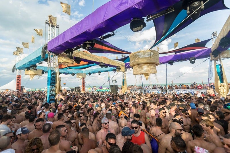 Winter Party em Miami para o público gay