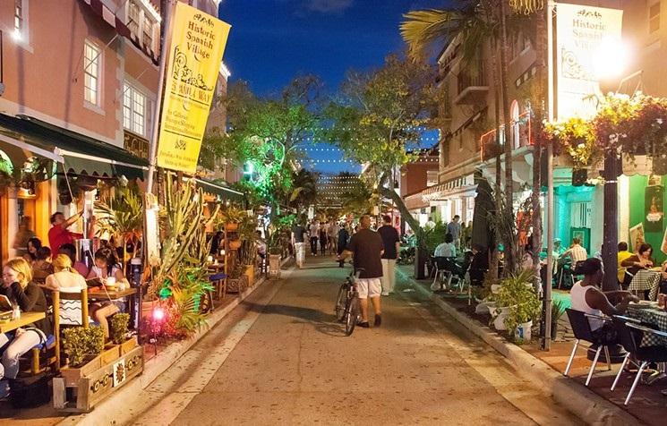 Española Way em Miami