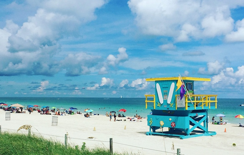 Hospedagem em South Beach em Miami