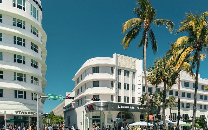 Visita ao Art Deco District em Miami
