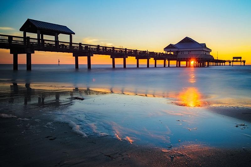 Clearwater em uma viagem pela Flórida