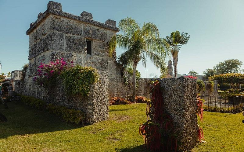 Coral Castle em uma viagem romântica por Miami