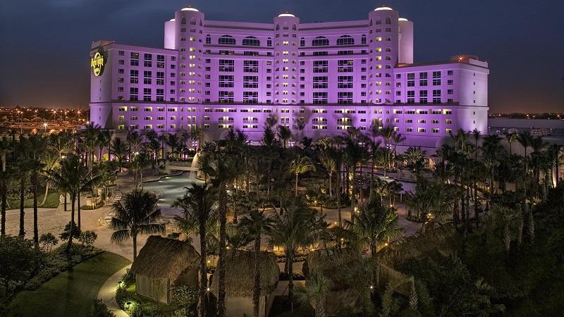 Passeio no Hard Rock Hotel Cassino em Miami