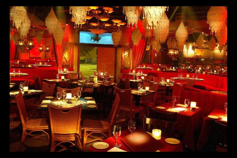 Restaurante Tantra em uma viagem romântica por Miami