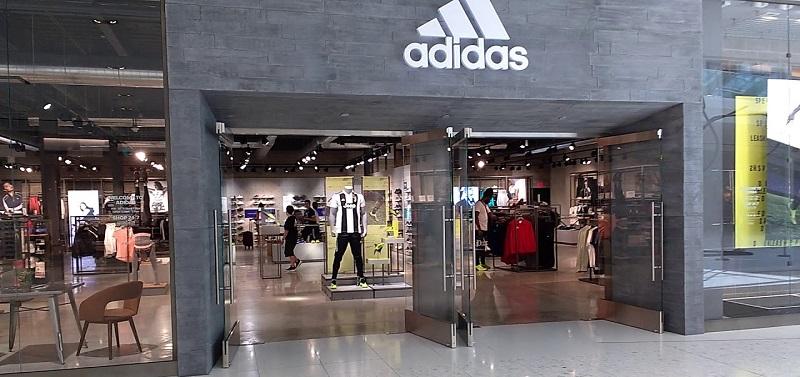Loja Adidas do Shopping Dolphin Mall em Miami