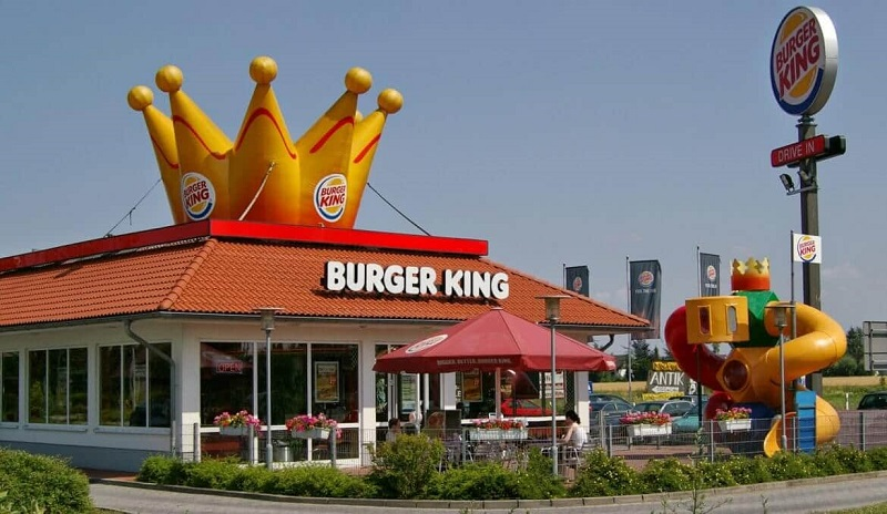Lanchonete Burger King em Miami