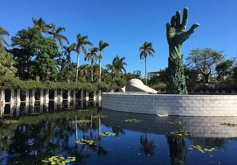 Lugar histórico Holocaust Memorial em Miami