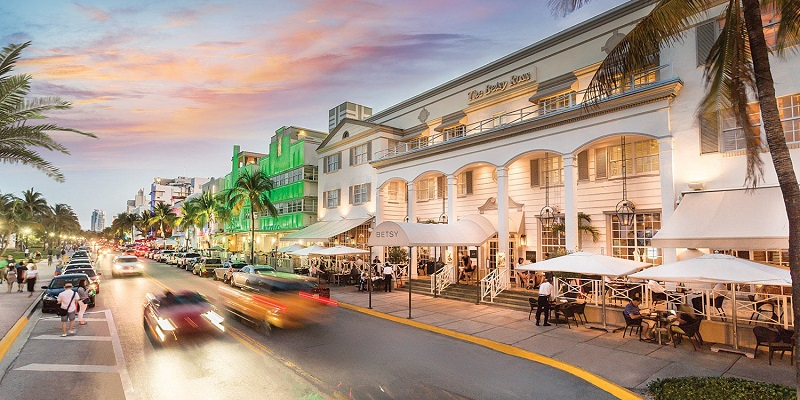 Restaurantes na Ocean Drive em Miami