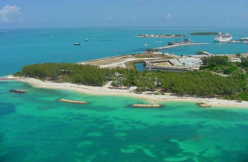 Fort Zachary Historic State Park em Key West