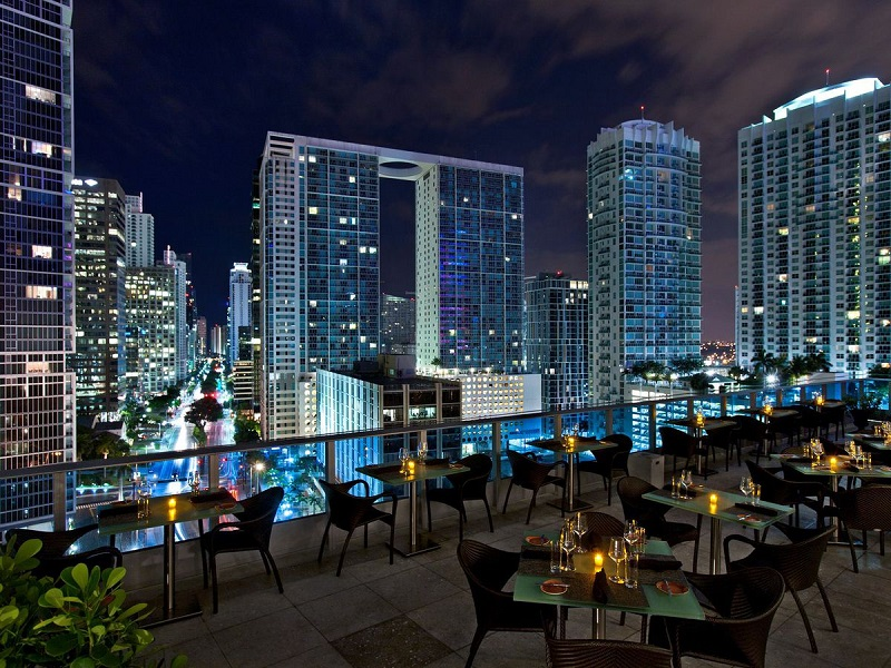 Destaques da vida noturna em Miami: Sky Bar