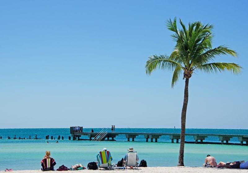 Praias de Key West: Higg's Beach