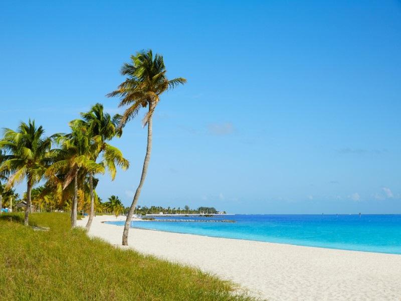 Praias de Key West: Smathers Beach