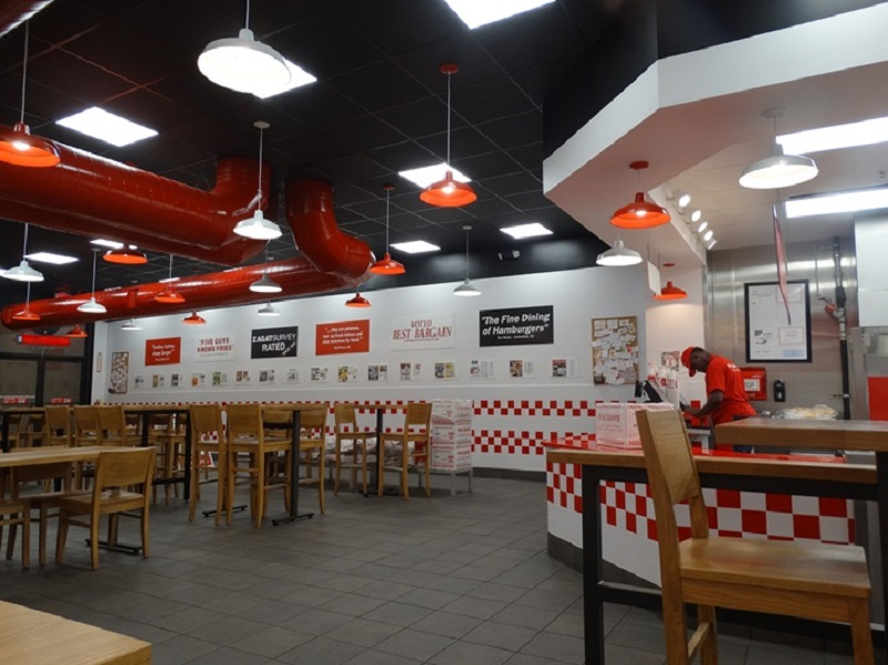 Five Guys na International Drive em Orlando