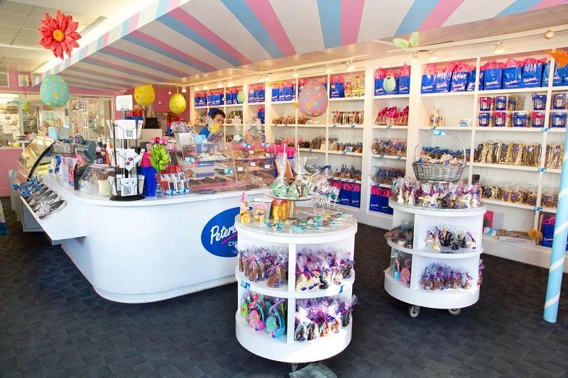 Comprar chocolates e doces na loja Peterbrooke Chocolatier em Orlando