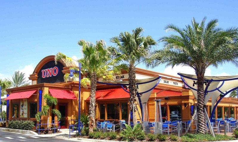 Pizzaria Uno em Orlando