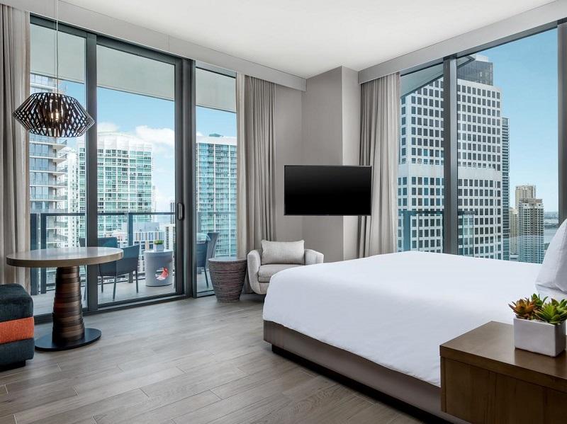 Quarto do hotel EAST em Miami