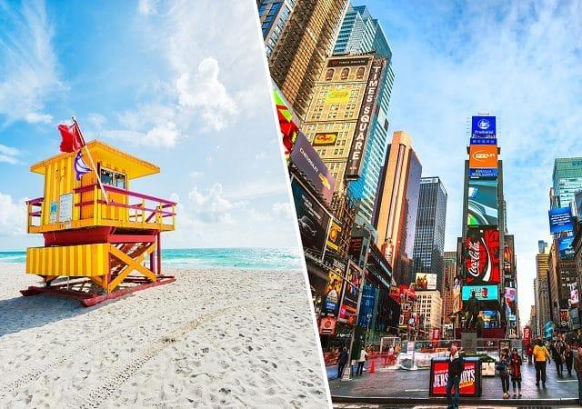 Pacote Hurb Nova York + Miami por R$ 5.219