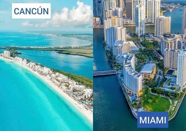 Pacote Hurb para Miami + Cancún por R$ 6.060